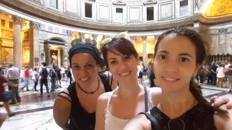 Pantheon sister selfie