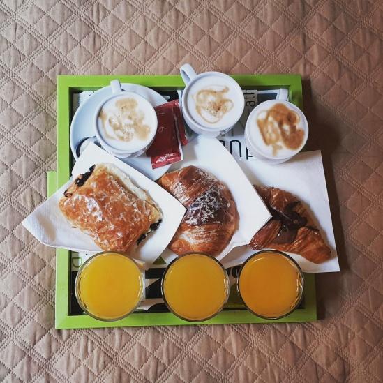 Hotel breakfast, Cialdini, Rome