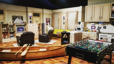 Chandler and Joey's apartment