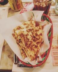 Roast Chilli quesadillas