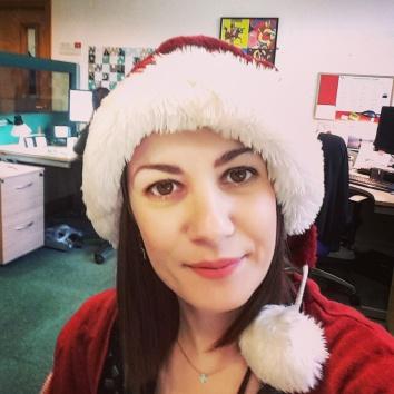 Santa Hat Selfie