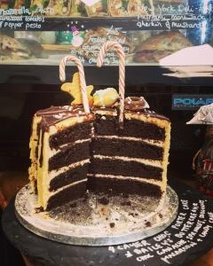 Coffeelab Chocolate cake