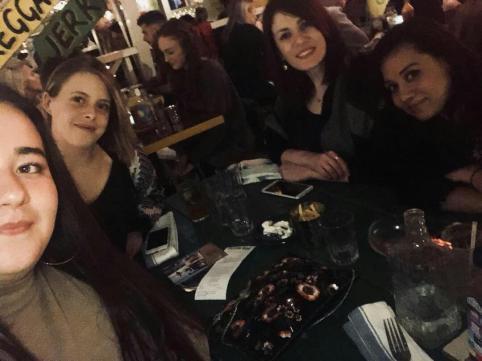 The Hub ladies