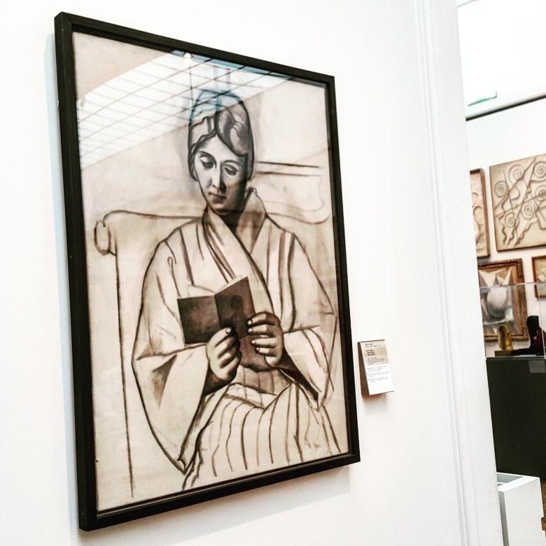 Olga reading, Picasso