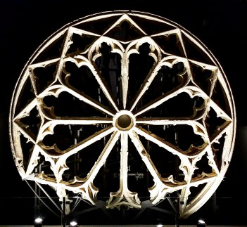 The rose window from the Carmelite Convent