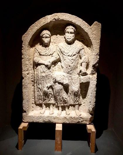 Roman tomb stone