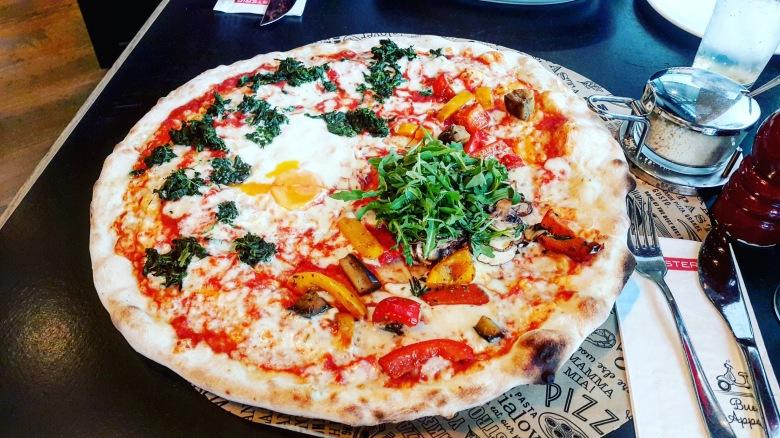 L'Osteria pizza