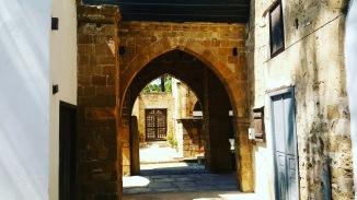 Hadjigeorgakis Cornesios mansion- the terrace